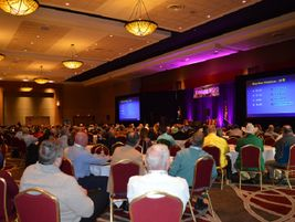 More than 100 attendeesjoined the federal issues forum with Bruce Landsberg, vice chairman for...