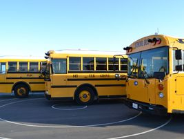 Elk Grove has taken steps to reduce emissions by acquiring new alternative fuel buses and...