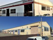 The top image shows the new Tire Pros store in Alameda, Calif., which is housed inside a...