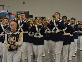 Band students fromWhetstone High Schoolparaded around the trade show floor as attendees...
