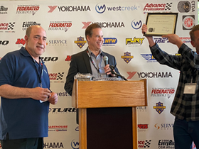 California Tire Dealers Honor Pete's Road Service