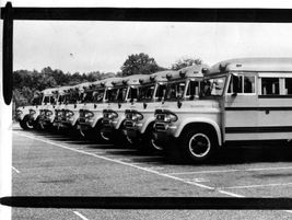 This shot sent to us byJared Grodnitzky shows an order of 10 new Wayne Dodges arriving in 1960.