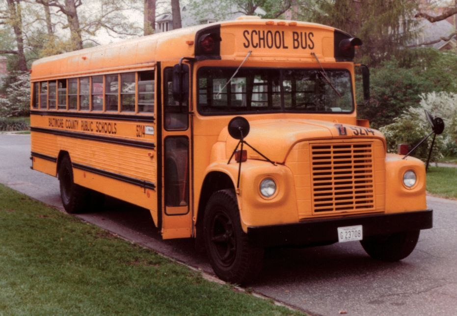 This is a 1972 Wayne International, and the photo was taken by its driver, Steve Hafner, in...