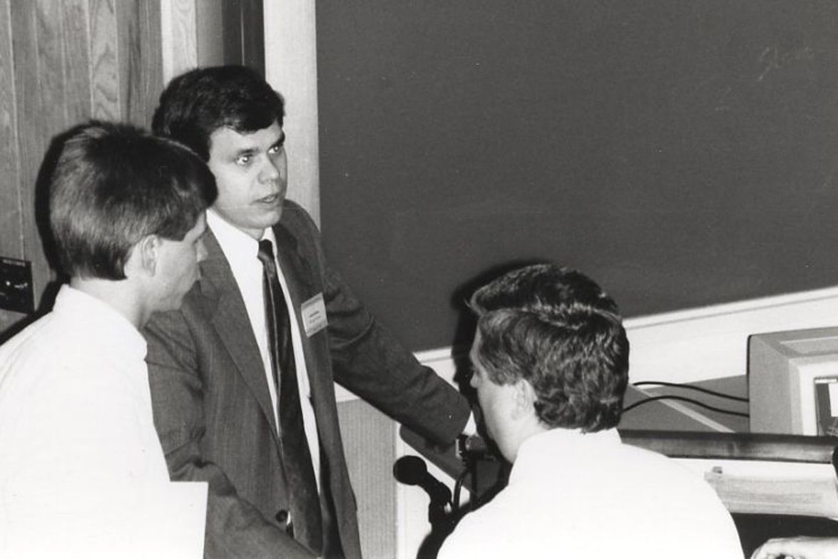 Before he became state director, Derek Graham (center) served as the project manager for North...
