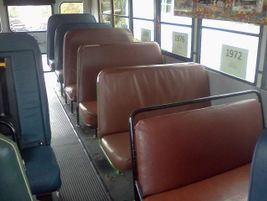 A view of the front of the seats. The North Carolina Department of Public Instruction and Durham...