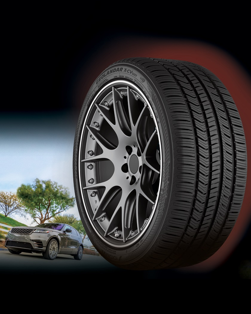 New Geolandar X-CV Comes in 23 Sizes for Luxury SUV/CUVs
