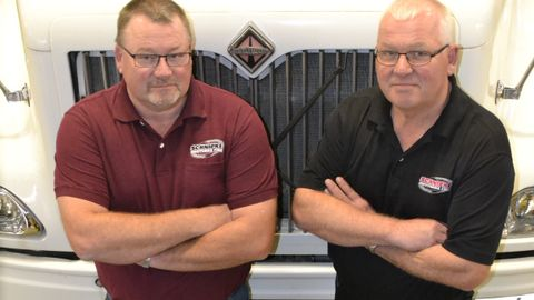 """""""We understand our customers,"""" says Kris (left) and Keith Schnipke, inside their newly expanded..."""