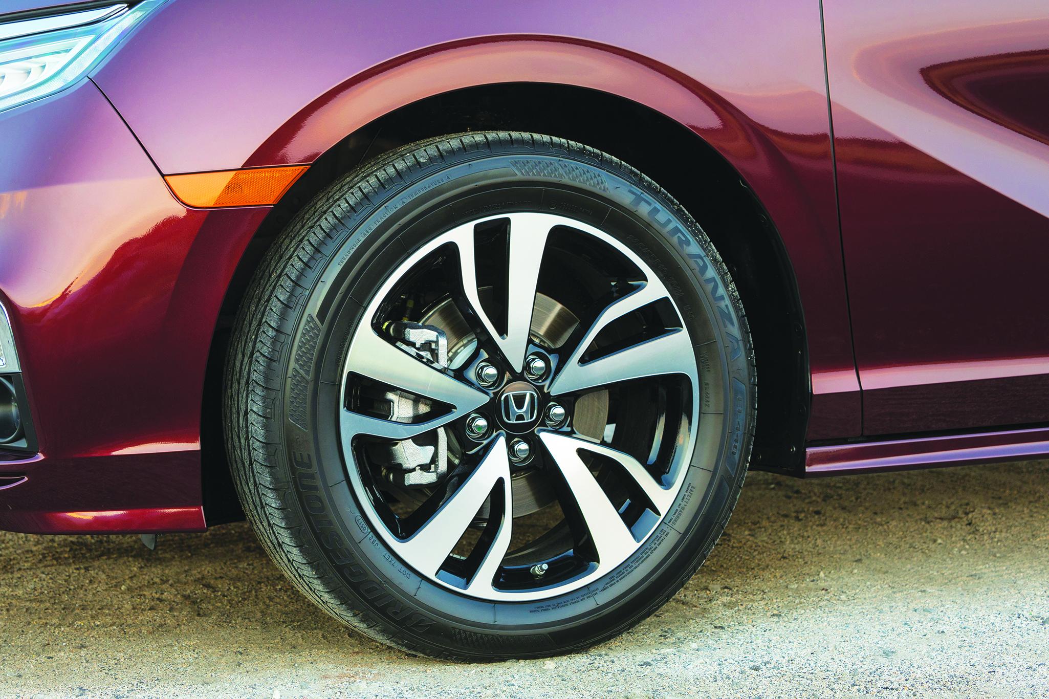 TPMS: Honda Odyssey, 2011-2019