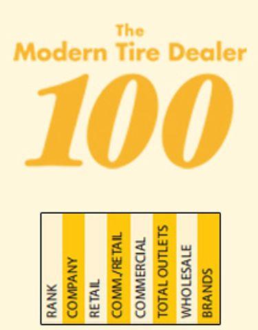 2016 Modern Tire Dealer 100