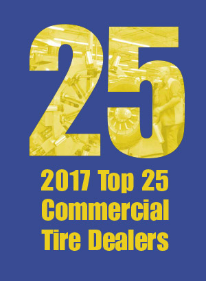 2017 MTD Top 25 Commercial Tire Dealers