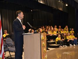 Jared Blumenfeld, the EPA's Region 9 administrator, noted that each school bus takes 36 cars off...