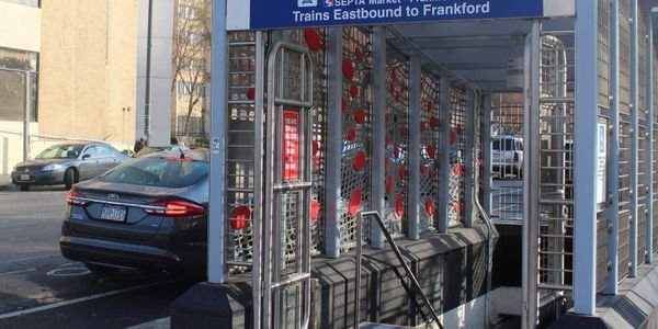 SEPTA was able to move ahead with renovations to its 40th Street Market-Frankford Line Station...