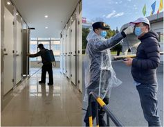 ZC Rubber is measuring the temperatures of its employees as they enter work, and plants and...