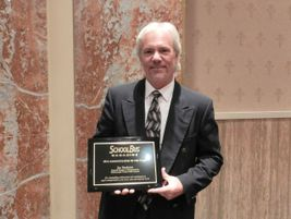 Florida school transportation veteran Jim Beekman was named SBF's Administrator of the Year.