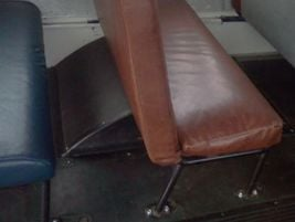 A seat from 1988. Note how much taller and thicker the seat back has become since the older...