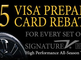 Vogue Tyre Offers Rebate in 'Fall Signature Sales Event'