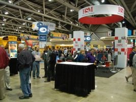 At the NAPT trade show, more than 130 vendors displayed their school buses, equipment and services.