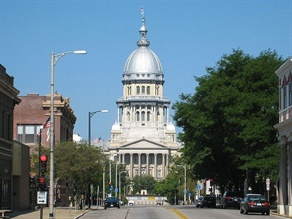 School districts in Illinois would not receive the regular transportation payment for the FY 2011 fourth quarter, under a plan announced by the governor's Office of Management and Budget. Pictured is the State Capitol.