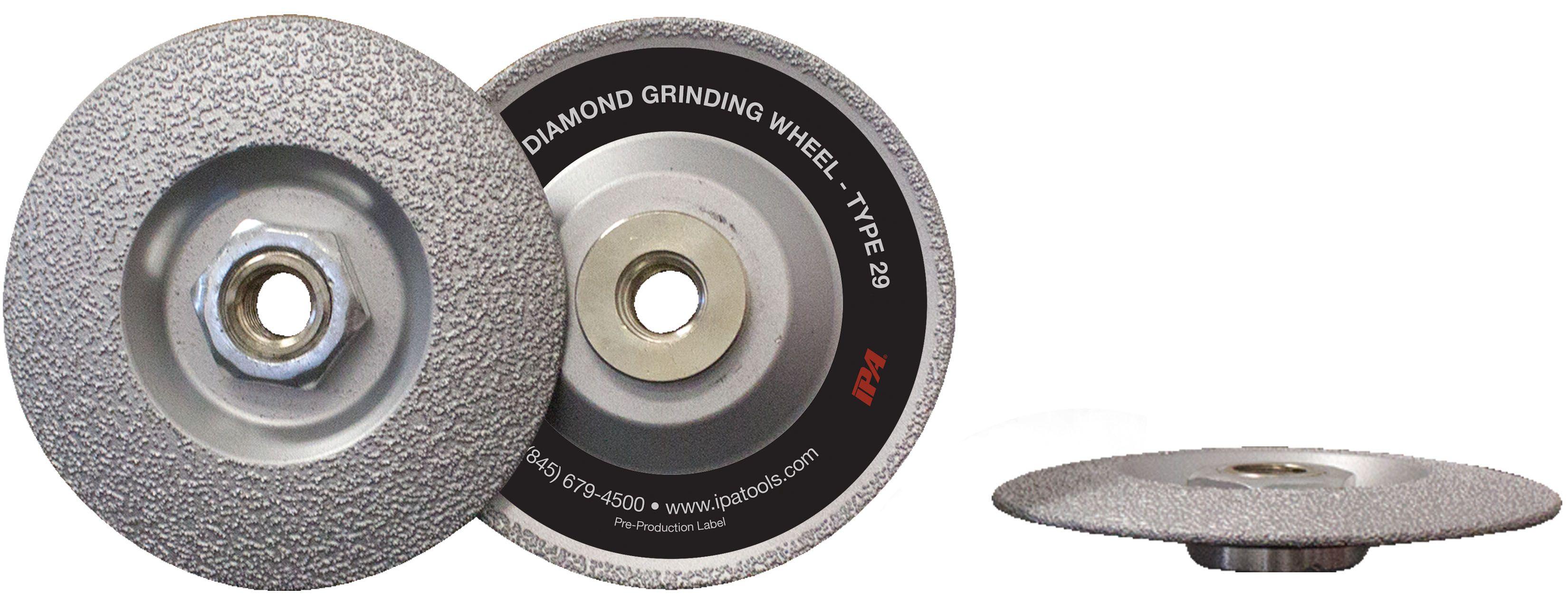 IPA Has New Diamond Grinding Wheel
