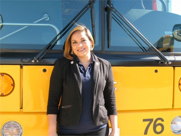 Angie Ortiz of Allen (Texas) Independent School District placed third in two consecutive years at the School Bus Driver International Safety Competition.