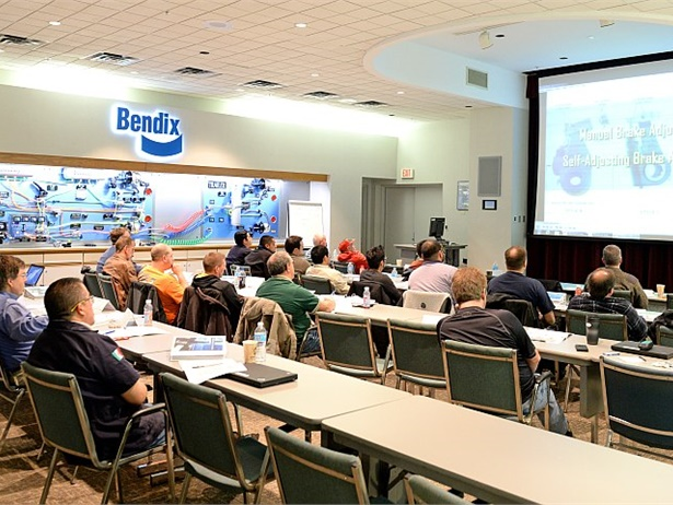 Bendix Commercial Vehicle Systems and Bendix Spicer Foundation Brake will offer 19 in-person brake training sessions in 2017. Registration is open for the complete schedule of sessions, which kicks off on March 21 in Owosso, Michigan.