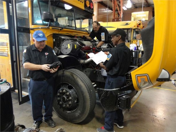 One finding of a new report from the Government Accountability Office is that all 50 states require school bus inspections, although frequency and other details vary. Photo courtesy Biloxi (Miss.) Public School District