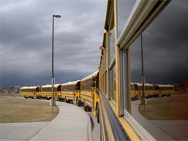 A story on Jefferson County (Ky.) Public Schools' pilot program that pays school bus drivers and special-needs assistants a $200 bonus for every pay period they come to work every day received the most likes and reactions on SBF's Facebook in 2017. Photo by John Horton