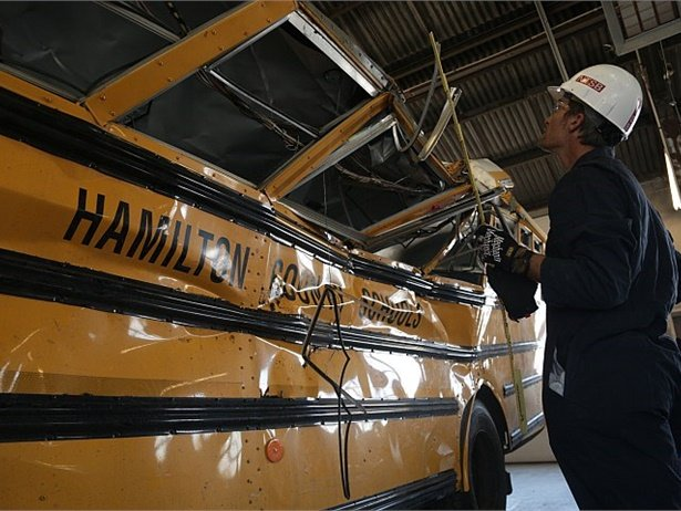 """Two bills that are intended to address school bus safety in the wake of a fatal crash in November have advanced in the Tennessee House of Representatives. One would raise the minimum age for new school bus drivers, and the other would require """"a restraint system"""" on school buses."""