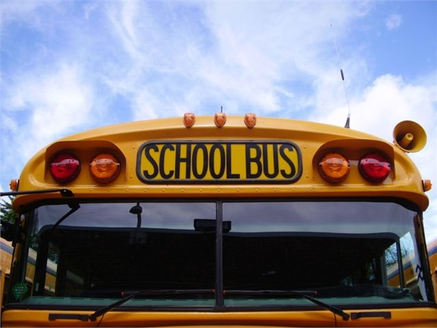 About 8,560 Los Angeles Unified School District students rode their buses to school as a teacher strike began on Monday. The strike continued into Tuesday. File photo courtesy Shane Kirley