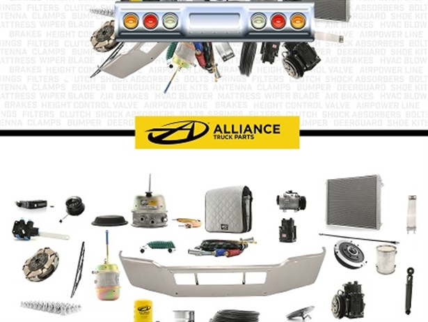 Alliance Truck Parts' new products, which include diesel exhaust fluid (DEF) filters, air brake compressors, and slack adjustors, will be available at dealerships and stand-alone retail locations.