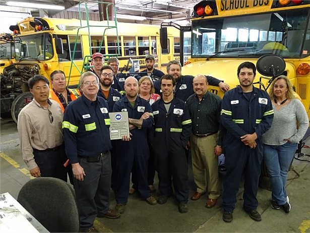 Durham School Services has earned recognition from the Automotive Service Excellence (ASE) Blue Seal Program for its Spokane, Washington, location.