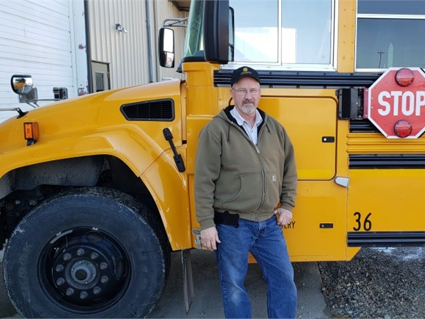 Dave Eckles started out as a substitute bus driver and worked his way up to transportation director for Atlantic (Iowa) Community School District. He retired in December.