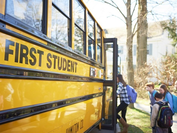 The school transportation provider has acquired two Campeau Bus Lines locations: one in Ottawa and another in Bowmanville.Photo courtesy First Student