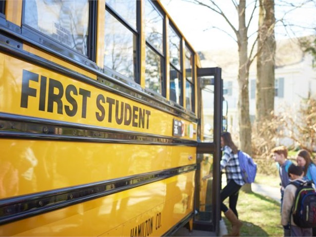FirstView, a bus tracking and parent communication app and platform created by First Student, is now being used by nearly 200 school districts across North America. File photo courtesy First Student