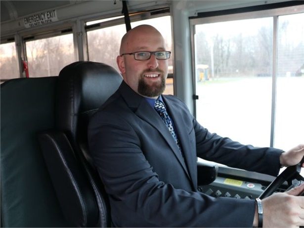 As Maryland's new state director of pupil transportation, Gabriel Rose (seen here) replaces Leon Langley, who stepped down from the position in July.