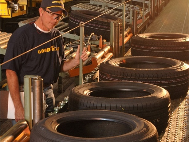 Goodyear Tire and Rubber Co. will temporarily suspend its manufacturing in the U.S. and across the Americas. Photo courtesy Goodyear