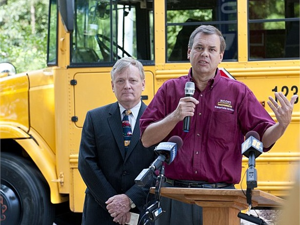 Derek Graham (shown right), former state director of pupil transportation in North Carolina, will provide consulting services to Edulog and its clients.