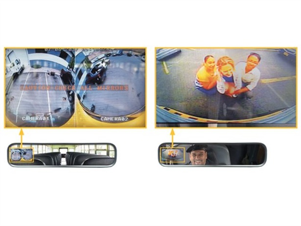 The IC Bus Full View Camera Technology by Rosco can reduce blind spots around the school bus, according to the companies.