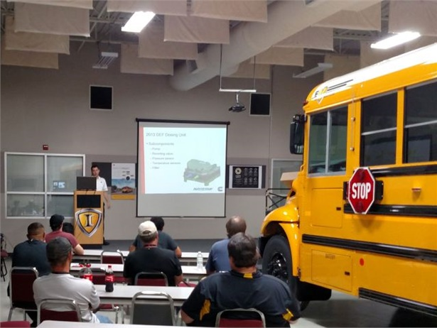 More than 2,000 technicians have completed IC Bus' maintenance training program.