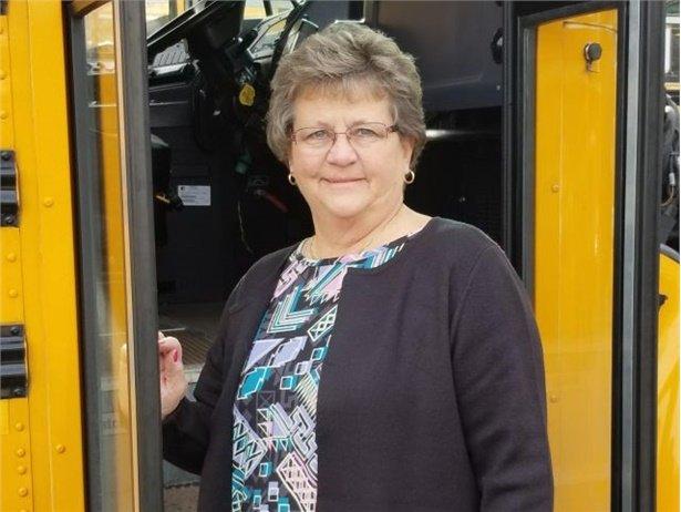 As a school bus driver and as an instructor, Jill Winger found effective ways to connect with passengers and address difficult behavior. She retires on Friday.