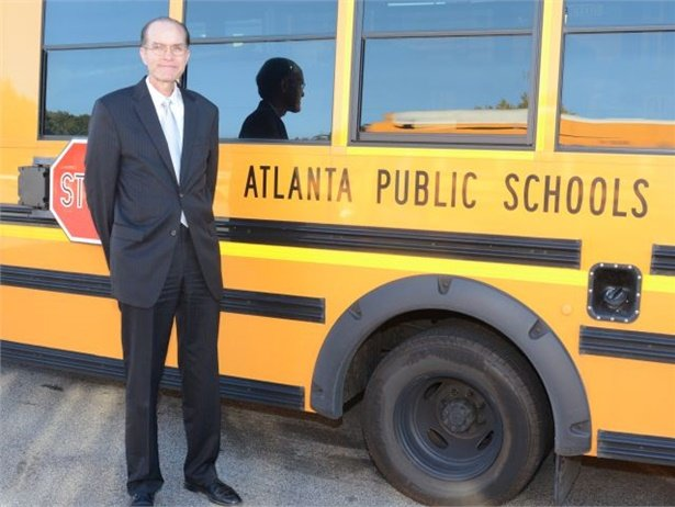 Last year's School Bus Fleet Administrator of the Year award went to John Franklin, executive director of transportation for Atlanta Public Schools.