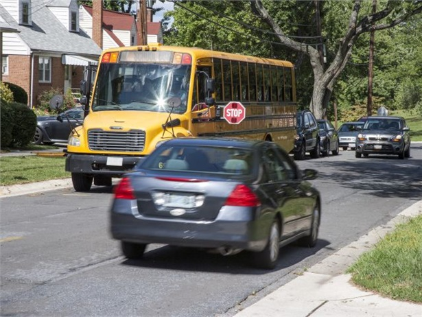 In Pennsylvania's Ferguson Township, nearly five times as many illegal passings have been reported this school year compared to the previous year. Stock photo courtesy NHTSA