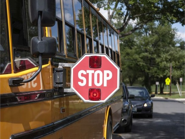 Six students were killed in school bus loading and unloading accidents in the 2017-18 school year. Half were attributed to vehicles passing school buses. File photo courtesy NHTSA