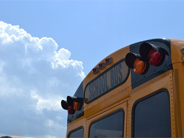 New CDC recommendations include seating one student every other row in school buses, increased cleaning and disinfecting of buses and drivers wearing cloth masks. File photo