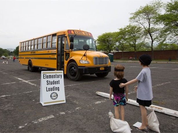 The New York School Bus Contractors Association is hosting its 46th annual New York State School Bus Safety Competition on May 20. Shown here is a previous competition.