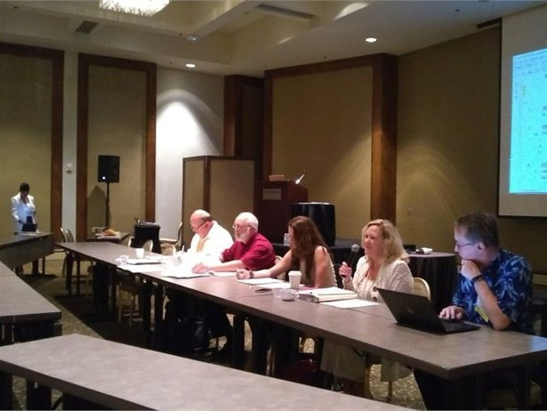 At NSTA's Midwinter Meeting, presentations and committee meetings covered industry updates, association initiatives, and other topics. Seen here is the government relations committee.