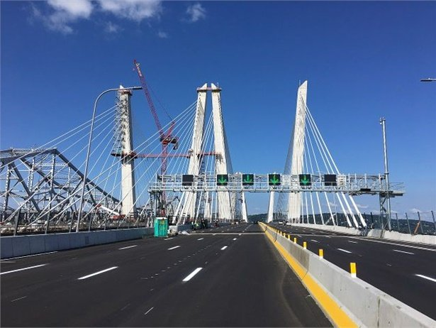 NYSBCA is calling for school buses to be included in a proposed bus lane for the new Governor Mario M. Cuomo Bridge. Photo by Shmatts24 via Wikimedia Commons
