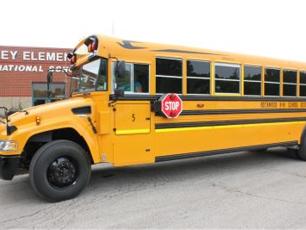 Rockwood bought 164 Blue Bird school buses from Central States Bus Sales this summer.