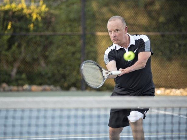 Roger Crawford persevered to become an accomplished tennis player despite having four impaired limbs.