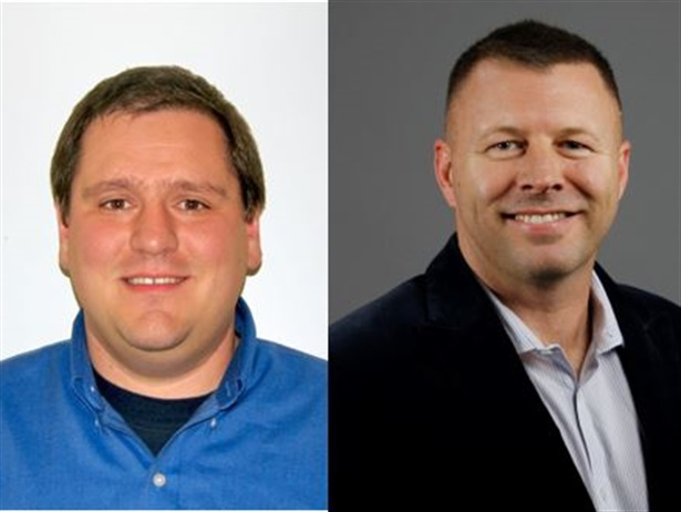 Jeff Holbert (left) and Steve Fedor (right) are the newest members of the west coast sales and technical services team for climate control systems supplier Trans/Air.